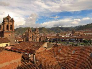 Cusco Altstadt.